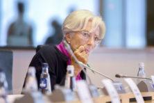 Uil Lagarde loopt op eieren in 2020