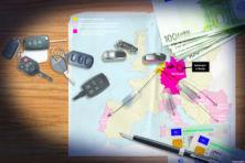 Grootschalige btw-fraude door export leasewagens naar nep-bv's