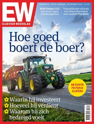 Cover Elsevier Weekblad editie 43 2019