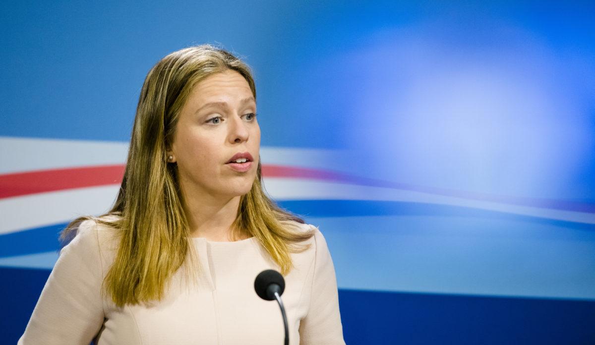Vice-premier Carola Schouten op de persconferentie na de ministerraad