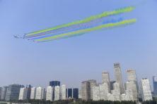 Grote China-show verbloemt knechting van het volk