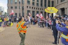 In Canada gaat de ruzie tussen Hongkong en China verder