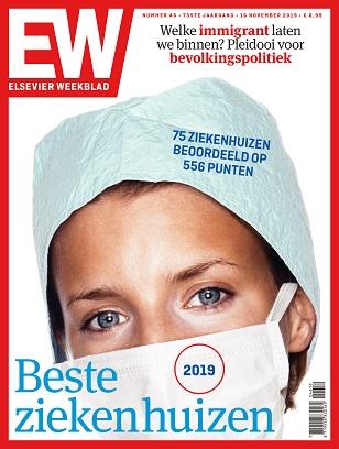 cover Elsevier Weekblad editie 46 2019 Beste Ziekenhuizen