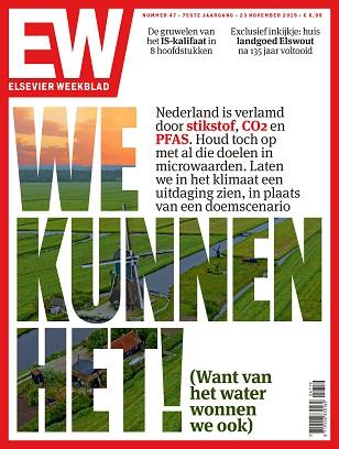 cover Elsevier Weekblad editie 47 2019 klimaat