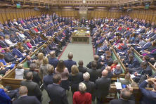 De vorm van het parlement