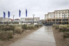 Boulevard van zeedorp in transformatie
