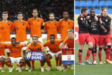 Racistische randdebielen juichen op EK weer voor veelkleurig Oranje