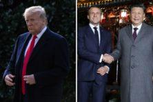 Amerika vertrekt officieel, Xi en Macron zweren trouw aan Parijsakkoord
