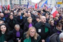 Nederlandse rechters horen niet in toga in Polen te demonstreren