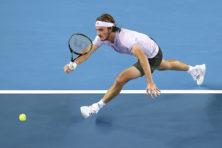 Griekse tennishoop Tsitsipás is publiekslieveling in Rotterdam