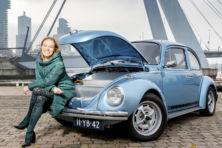 'Ik wilde een oude auto elektrisch laten rijden'