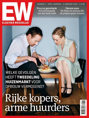 Elsevier weekblad cover editire 06 2020 Rijke kopers arme huurders