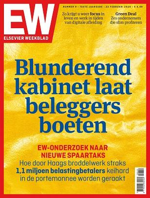 Cover Elsevier weekblad editie 08 2020 Blunderend kabinet laat beleggers boeten