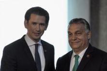 Zege Kurz en Orbán: geen veerdienst Afrikanen meer