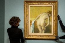 Een getekende naakte vrouw veroorzaakt een wonderlijke affaire