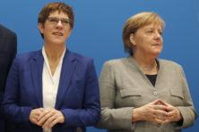 Dreigt Duitse regeringscrisis met afhaken van Merkels opvolger?