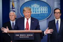 Amerikanen denken heel anders over 'incapabele' Trump en zijn corona-aanpak