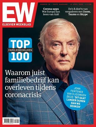 Cover Elsevier Weekblad editie 16 2020 familiebedrijven top 100