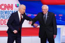 Geest van linkse Bernie Sanders zal Joe Biden nog lang achtervolgen