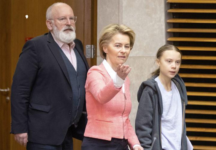 Frans Timmermans en Ursula von der Leyen: niet rekenen op voorgekookte meerderheden