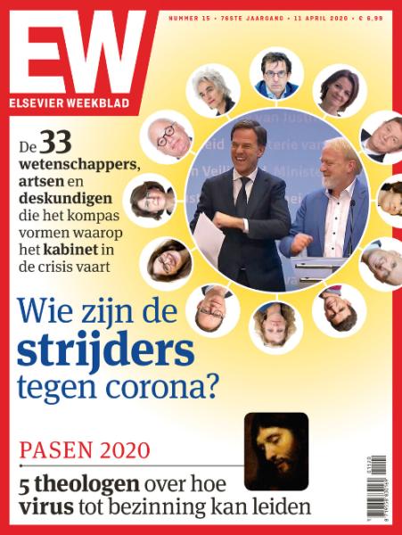 Elsevier Weekblad editie 15 2020 wie zijn de strijders tegen Corona