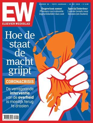 Cover Elsevier Weekblad editie 20 2020 Hoe de staat de macht grijpt