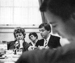 De ministers Kroes en Nijpels