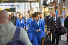 Realiteit daalt niet in bij luchtfietsers van KLM
