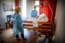 Zorgen om virusbesmetting in slecht geventileerde verpleeghuizen