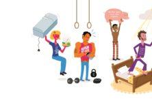 Sporters genieten van spierpijn achteraf. Maar spierpijn is niet onschuldig