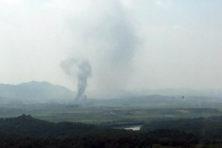 Noord-Korea blaast kantoor op bij grens met Zuid-Korea en dreigt met militaire actie