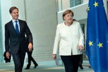 EU-top: veto van Rutte tegen Merkels onzin is pro-EU