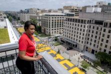 Vrouwelijke burgemeesters zoeken confrontatie met Trump