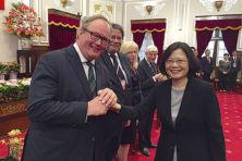 Hogere politieke gasten voor Taiwan