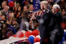 De grote Trump-show moet achterstand doen verdwijnen