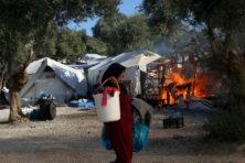 Update: Nederland neemt toch mensen op uit het verbrande kamp Moria