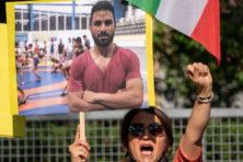 Executie van Iraanse worstelaar symbool van slechte mensenrechtensituatie