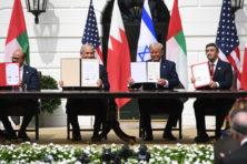 Historische Arabische handreiking aan Israël zorgt voor politieke aardverschuiving