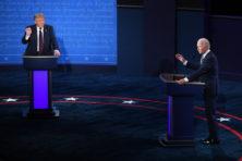Chaotisch verkiezingsdebat tussen Trump en Biden levert geen knock-outs op