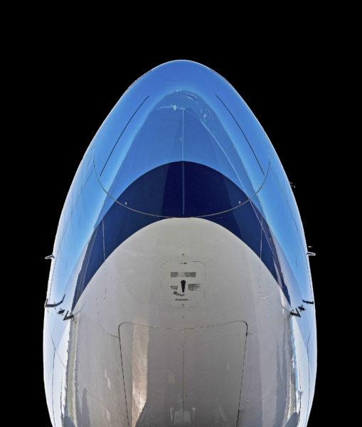 KLM, motor van Schiphol