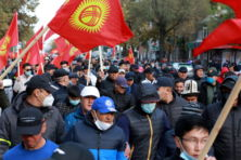 Onrust in Kirgizië: nog meer kopzorgen voor Poetin