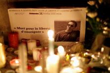 De week na de onthoofding, in Frankrijk en in Nederland