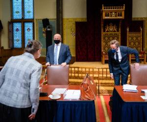 Behandeling coronawet in Eerste Kamer