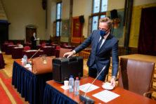Overdreven gekef over coronawet in senaat