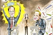 Mark, Hugo & de rest. Stijgers en dalers in de crisis