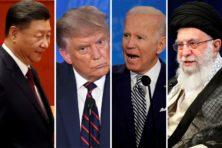 Waarom China en Iran hopen dat Joe Biden Trump verslaat
