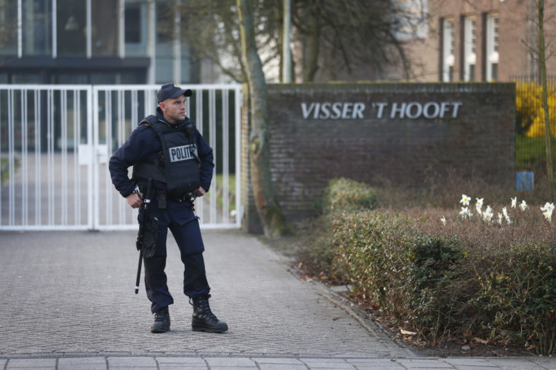 Het Leidse Visser 't Hooft Lyceum in 2013. Foto: ANP.