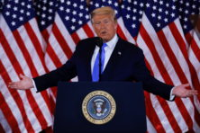 Trump claimt winst in bloedstollende verkiezingsrace, veel swing states nog onbeslist