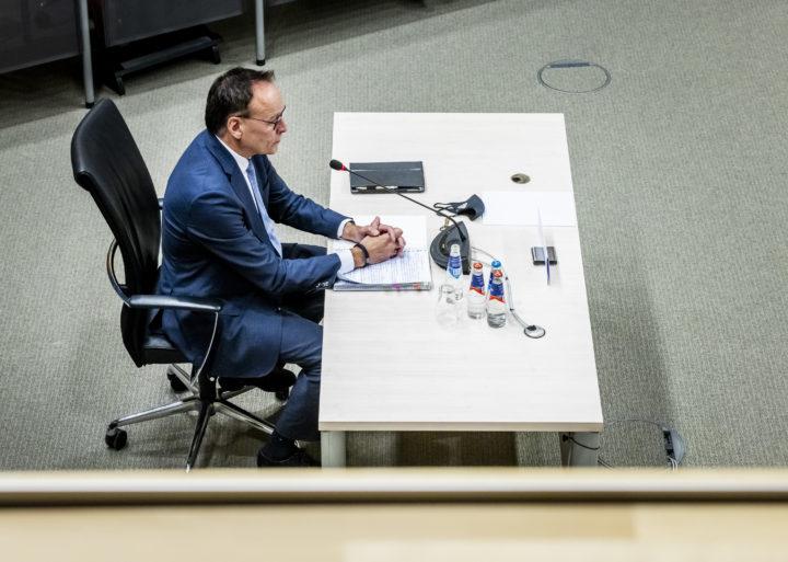 Gerard Blankestijn tijdens het verhoor.