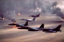 Geruisloos juichen om de bevrijding van Koeweit